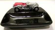 Vintage Lesney Chrome Bently Car Ashtray, Dish, Dresser Caddy Made in England