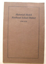 Hartford CT Northeast School District 1915 first edition illustrated photos book