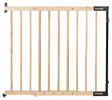 Treppenschutzgitter Clamaro verstellbar von 75,5 - 117 cm universal Treppen, Tür