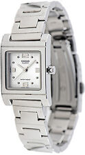 Casio LTP-1237D-7A Ladies Analog Stainless Steel Casual Dress Watch Brand New