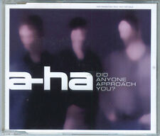 A-HA - Did Anyone Approach You ? CD Maxi Promo 2002