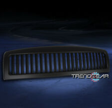 1994-2001 DODGE RAM 1500/2002 2500 3500 UPPER HOOD VERTICAL GRILLE INSERT BLACK