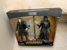 Marvel Legends Avengers Infinity War LOKI CORVUS GLAIVE Walmart Exclusive