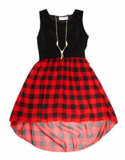 Vêtements noirs au-dessous du genou polyester pour fille de 2 à 16 ans