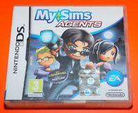 My Sims Agents Videogames VideoGioco Gioco per Console NINTENDO DS 3DS 2DS Used