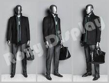 Male Fiberglass EggHead Mannequin Dress From Display #Mz-Ds001