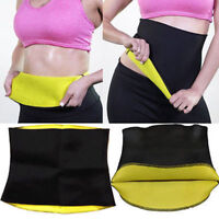 Fat Burn Sweat Hot Neoprene Body Shaper Slimming Waist Trainer Cincher Yoga Belt