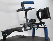 Shoulder Rig II with Single C Support Handle and Counter Weight Stabilizer Kit