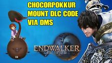 CHOCORPOKKUR MOUNT FF XIV PROMO MOUNT! (DIRECT DMS)