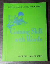"""American Girl MOLLY """"GAINING SKILL WITH WORDS"""" BOOK from School Bag & Supplies"""