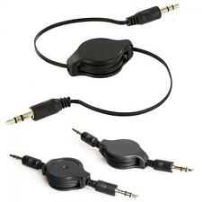 Male To Male 3.5mm Stereo Audio Car AUX Auxiliary Cable for IPod MP3/phones/PC