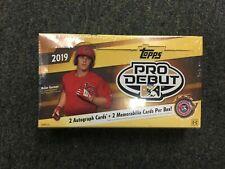 2019 Topps Pro Debut Baseball Hobby Box Factory Sealed Brand New Free Shipping