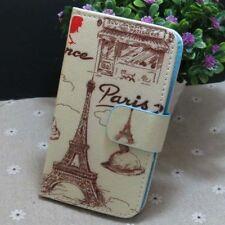 1x Paris Eiffel Tower Wallet Holder flip case cover for Various Mobile phone