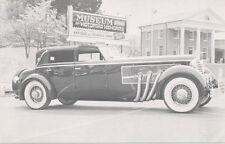 Natural Bridge VA * Pettit Car Museum ca. 1950 * 1940 Duesenberg Supercharged