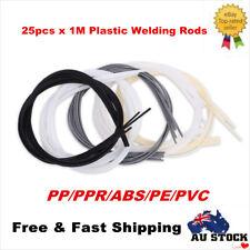 25Pcs Plastic Welding Rods PP/PPR/ABS/PE/PVC For Plastic Product Fix Welder Rods