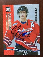 2005-06 ITG Heroes and Prospects #410 Cal Clutterbuck Rookie Auto RC Autograph