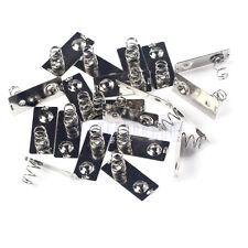 30 Batterie Kontakt Batteriefeder Metall Silber für AA Batterien ER