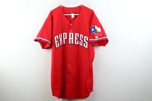 Eli Whiteside Autographed Round Rock Express Minor League Baseball Game Jersey