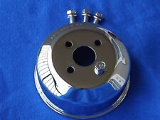 Chrome OEM 94-95 Mustang GT Cobra Saleen Water Pump Pulley & Bolts, 5.0