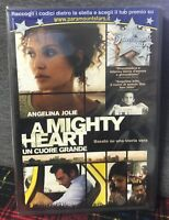 A Mighty Heart Un cuore grande DVD Nuovo Angelina Jolie M. Winterbottom