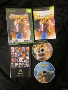 XBOX : SHENMUE II 2 - Completo ! Con DVD Bonus ! Compatibile Xbox 360 e One