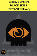 DESTINY 2 Emblem BLACK SKIES ~ INSTANT DELIVERY GUARANTEED BLACK FRIDAY SALE!!!!