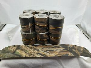 """Mossy Oak Camouflage Tape 2""""×10' 12 Rolls - Hunting - Airsoft - Gun - Bow.."""