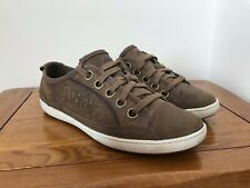 WORN ONCE WOMENS TIMBERLAND EARTHKEEPERS FUNKY BROWN / PURPLE CASUAL SHOES UK 8