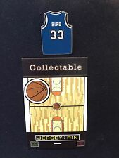 Boston Celtics Larry Bird RETRO lapel pin-Indiana State Sycamores-Collectable