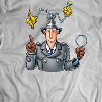 INSPECTOR GADGET CUSTOM OLDSKOOL CARTOON ARTWORK* Shirt *MANY OPTIONS*