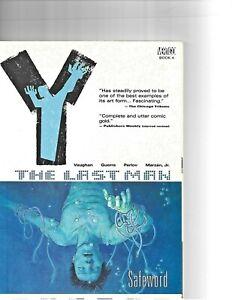 Y The Last Man Vol 4 Safeword Graphic Novel Trade paperback Vertigo Comics