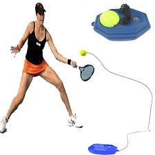Rebound Tennis Trainer Self-study Set Training Aids Practice Partner Equipment