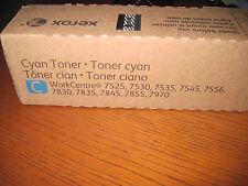 GENUINE Xerox 006R01512 Cyan Toner Cartridge METERED 6R1512 6R1516 NEW SEAL!