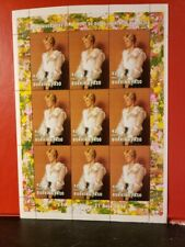 Worldwide Lot of 19 Princess Diana Stamps - MNH - 1997-1998 see detail for list