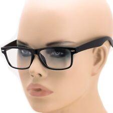 Smart Black Interview Generic nerd Fashion Rectangular Clear Lens Glasses fake