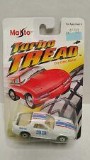 Maisto Turbo Tread Mazda RX-7 Race Car White #33 1:64