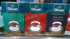 Dilmah , English Afternoon,English Breakfast,Earl grey 50 bags x3