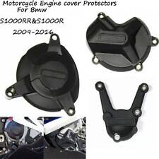 Motorcycles Engine Cover Protection Case Black For BMW S1000RR S1000R 2009-2016