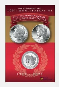 2021 The last Of The Morgan Dollar Coin,Pobjoy Mint,Limited edition,1921 minted