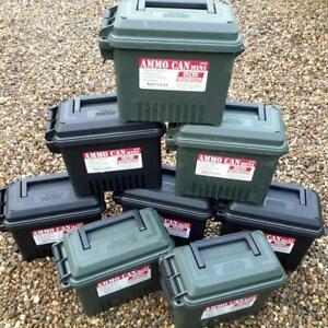 EMPTY AMMO BOX PLASTIC MTM CASE-GARD MINI AC15 STORAGE BOX FIELD BOX TOOL BOX