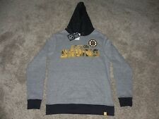 BOSTON BRUINS HOODIE MENS SMALL OR YOUTH XL MAJESTIC TEAM APPAREL NEW WITH TAGS