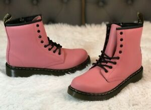 Dr Martens 1460 Acid Pink Smooth Leather Boots Size Women's 5 $200