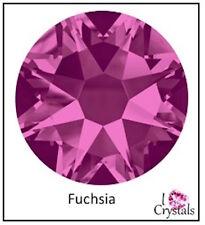 FUCHSIA Pink 16ss 4mm 144 pieces SWAROVSKI Crystal Flatback Rhinestones 2088