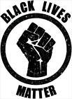 "Black Lives Matter Fist Laminated Poster - 24.5"" x 36.5"""