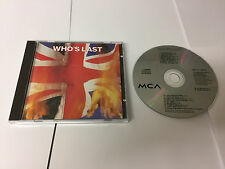The Who - Who's Last (Live Recording, 1984 PRESS MCLD 19005 - MINT