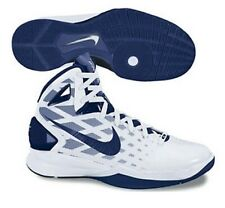 Nike Hyperdunk 2010 SZ 10 White Midnight Navy Blue USA Olympics Gold 407625-109