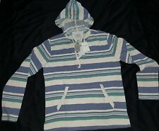 Lucky Brand Men's Medium Striped Baja Hoodie