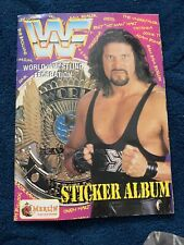 WWF MERLIN 1995 WRESTLING STICKER COLLECTION ALBUM DIESEL COVER WWE HASBRO WCW