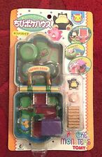 Pokemon Authentic Japanese Tomy Pokemon Scene Playset Snorlax & Chansey New