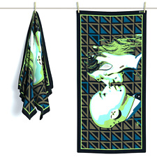 EROTIC ART BEACH TOWEL Luxury Cotton Large Surf Gym Swimming Pool Bath Cool Gift